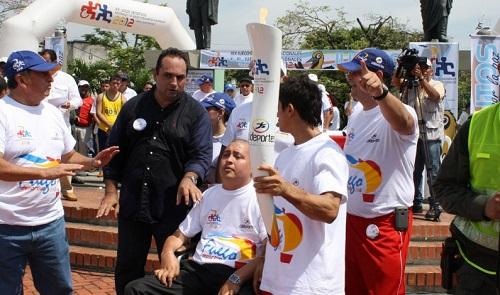 Hoy llega a Yopal en fuego deportivo de los juegos Nacionales y Paranacionales