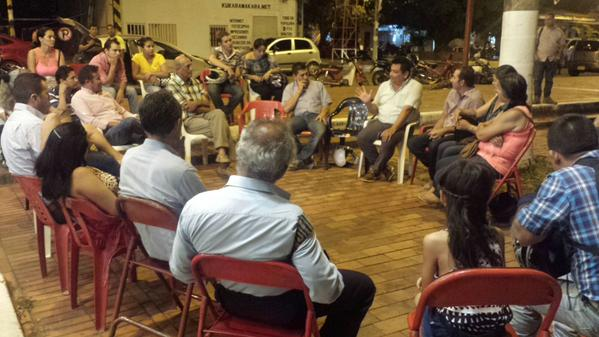 Alcalde de Yopal y comerciantes se reunieron por crisis del comercio