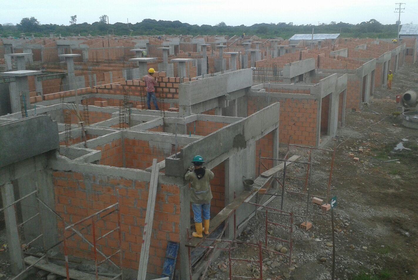 Sortearon casas de reubicación a ciudadanos de Villa Rita y Cimarrón
