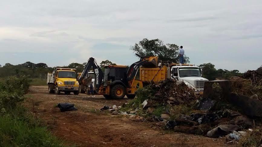 Yopal recupera un punto crítico de la ciudad utilizado para arrojar basuras