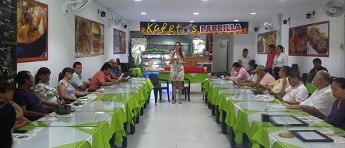 Café Empresarial en Aguazul