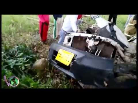 Grave accidente en la entrada a Aguazul