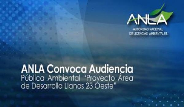 """Audiencias públicas del proyecto petrolero """"Llanos 23"""" en San Luís de Palenque"""