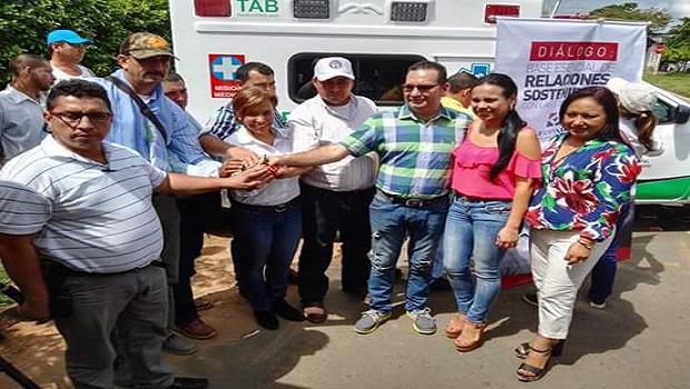 Geopark entrega ambulancia a Villanueva para atender población rural