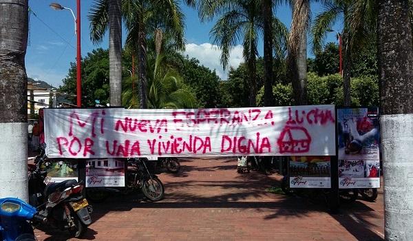 Asentamientos humanos se reúnen este lunes con autoridades locales en defensa de sus derechos. La Cantaleta