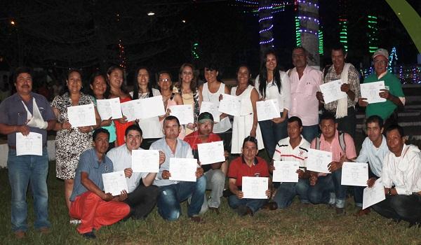 En Nunchía asumieron 25 jueces de paz y reconsideración