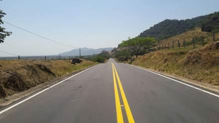Paso lento en la vía Villavicencio – Yopal por actividades de mantenimiento.