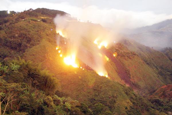 Alerta roja en Casanare por proliferación de incendios forestales