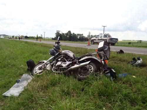 Dos personas fallecieron en accidentes de tránsito.