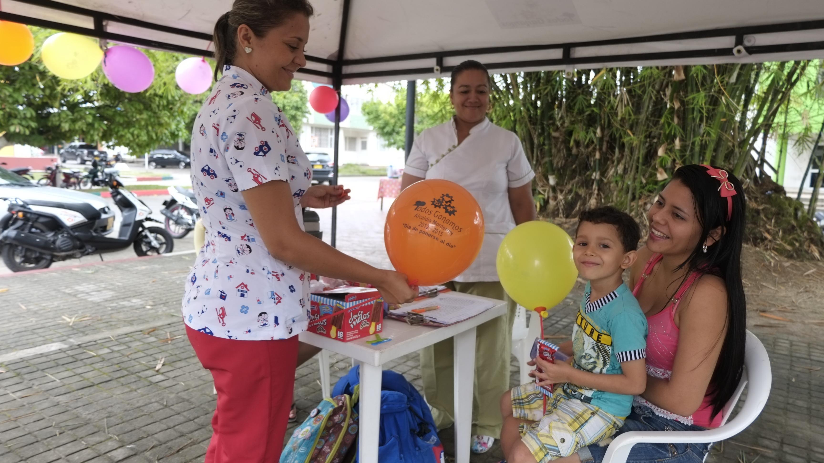 Vacunación gratuita para más de cuatro mil menores en Casanare.