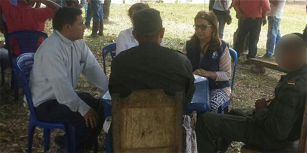 Farc entregan en Arauca a un menor de 15 años de edad.