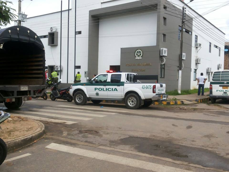 A tiros se enfrentó la policía a los delincuentes en zona rural de Paz de Ariporo.