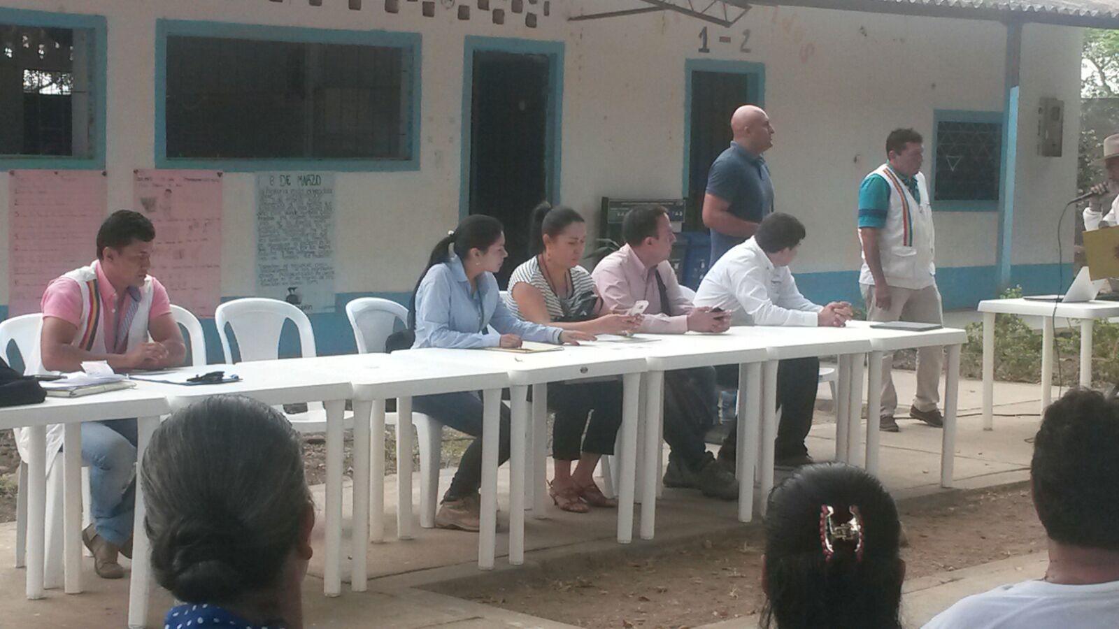 En Morichal se quedaron esperando respuestas de aguas residuales