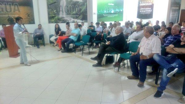 En Corporinoquia presentaron proyecto para evaluar las aguas subterráneas