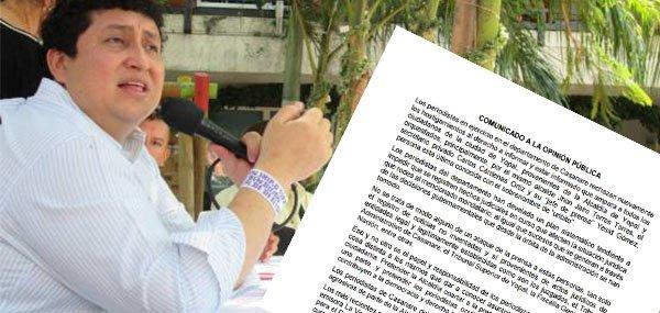 Flip insta a alcalde de Yopal a respetar ejercicio periodístico en Yopal