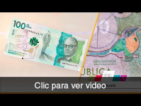 Cinco pasos para reconocer si el billete de $100.000 es falso o no