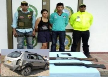 Ejército capturó pareja que asaltó finca en Trinidad cuya dueña murió después