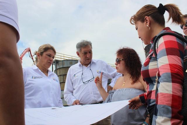 Superservicios revisó obras de la planta modular de agua potable en Yopal