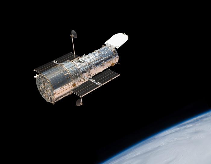 #Violetaenlahistoria: Hoy hace 26 años se puso en órbita el telescopio espacial Hubble