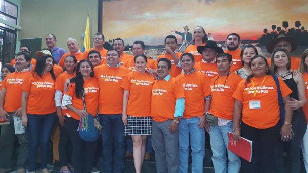 Diputados conmemoraron el Día de las Víctimas de Casanare