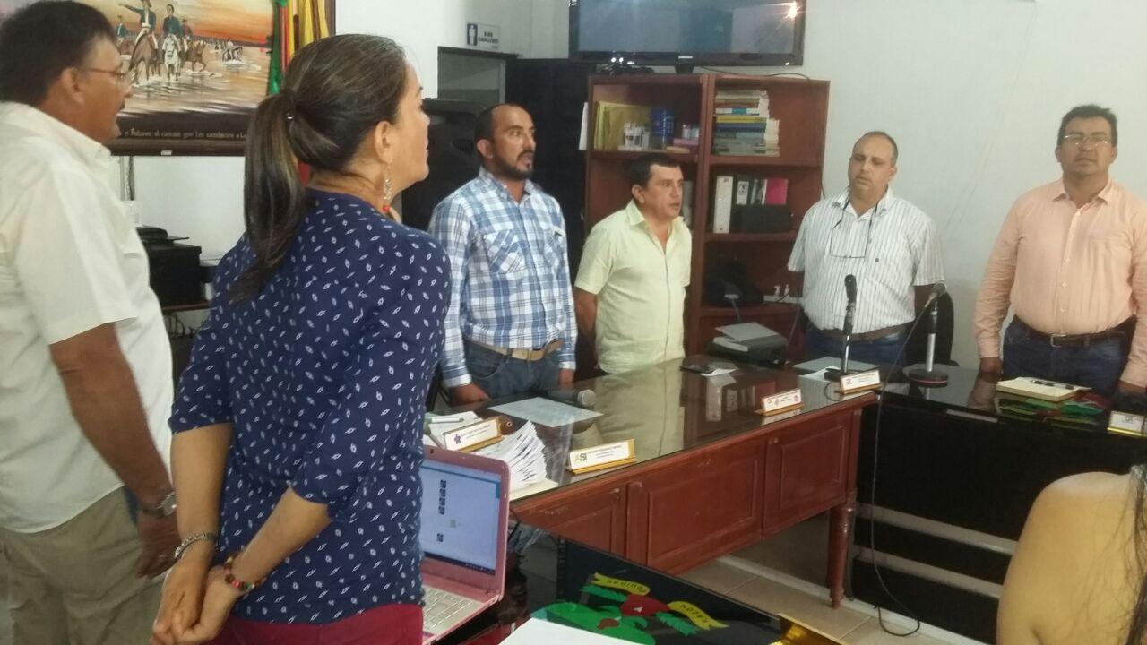 Iniciaron sesiones extraordinarias en concejo de Paz de Ariporo