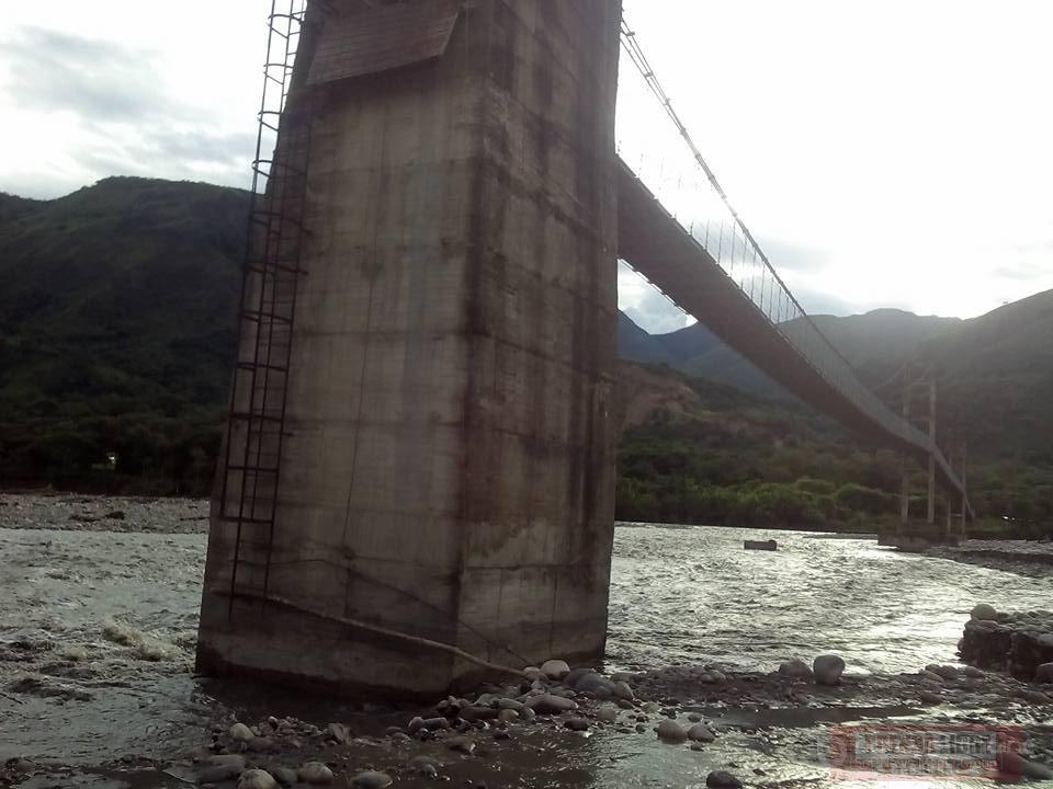 #EnAudio Raúl Pidiache de Támara afirma que obras de puente en el Ecce Homo están demoradas.