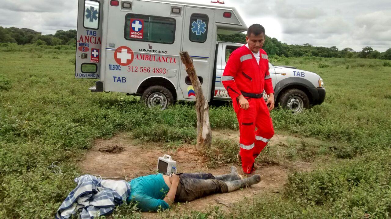 Fallece persona pateada por un caballo en Paz de Ariporo