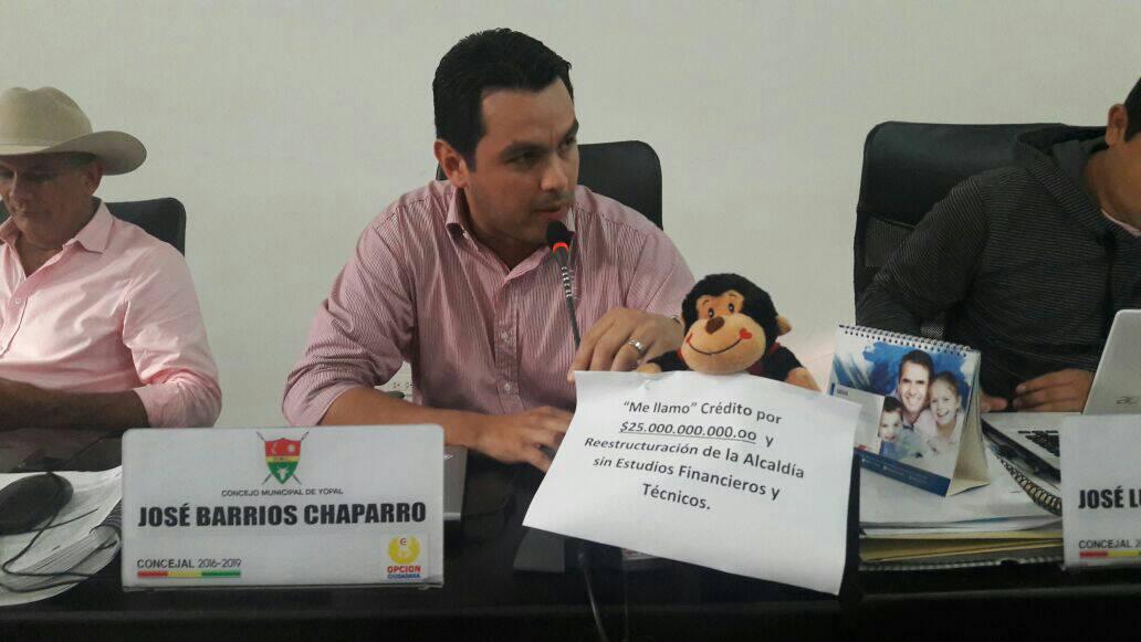 [AUDIO] Concejo de Yopal, rechaza objeciones al plan de desarrollo por presencia de orangutanes