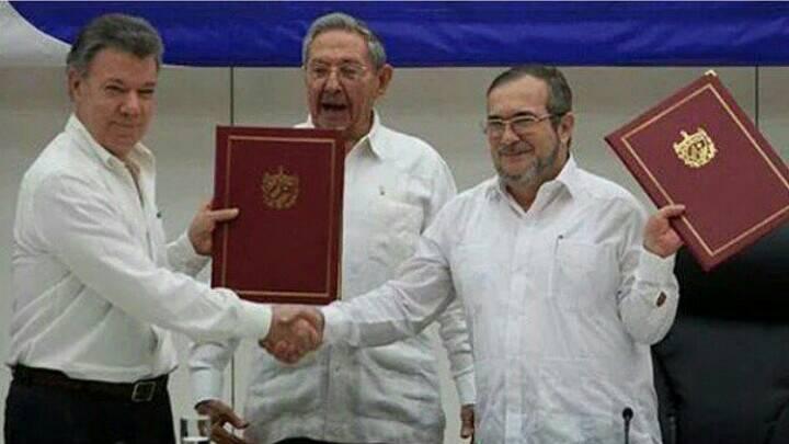 Acuerdo de cese bilateral del fuego y dejación de armas firmaron Gobierno Nacional y Farc