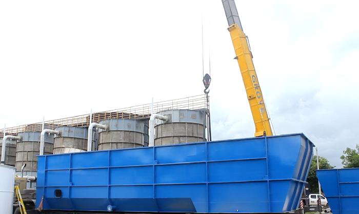 Bloqueo de vías afectó traslado de equipos de la nueva planta alterna de acueducto