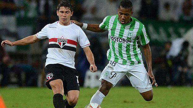 Atlético Nacional y Sao Paulo abren la batalla por ser finalistas de la Copa Libertadores