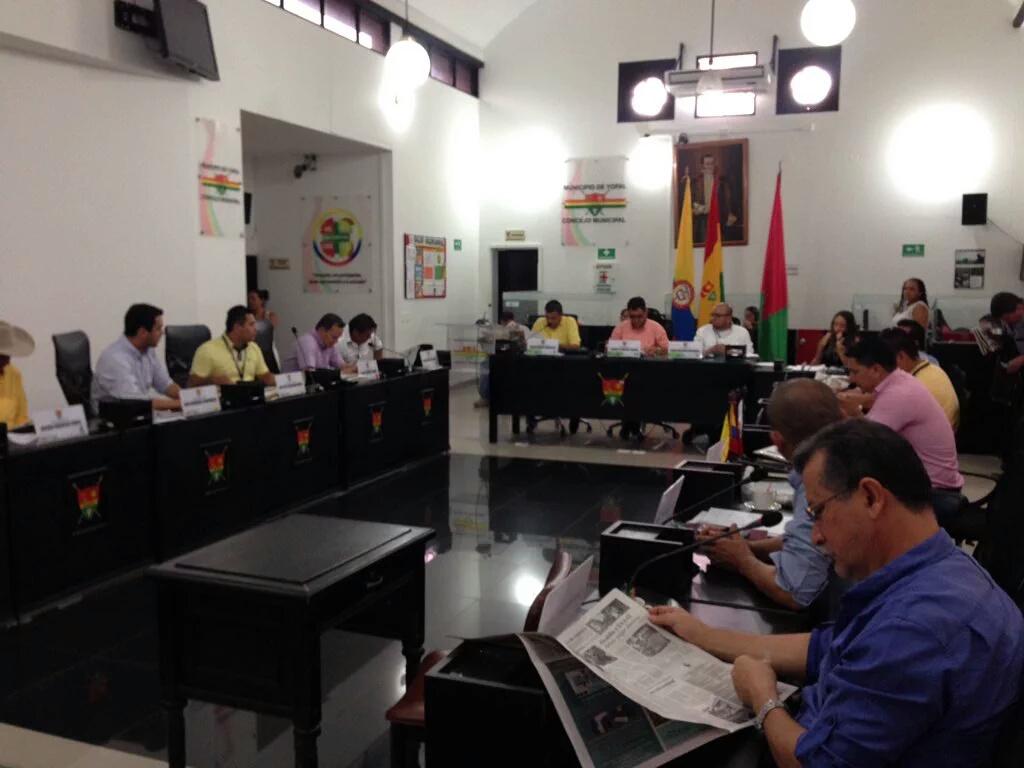 Concejo de Yopal espera decreto de ampliación de sesiones extraordinarias