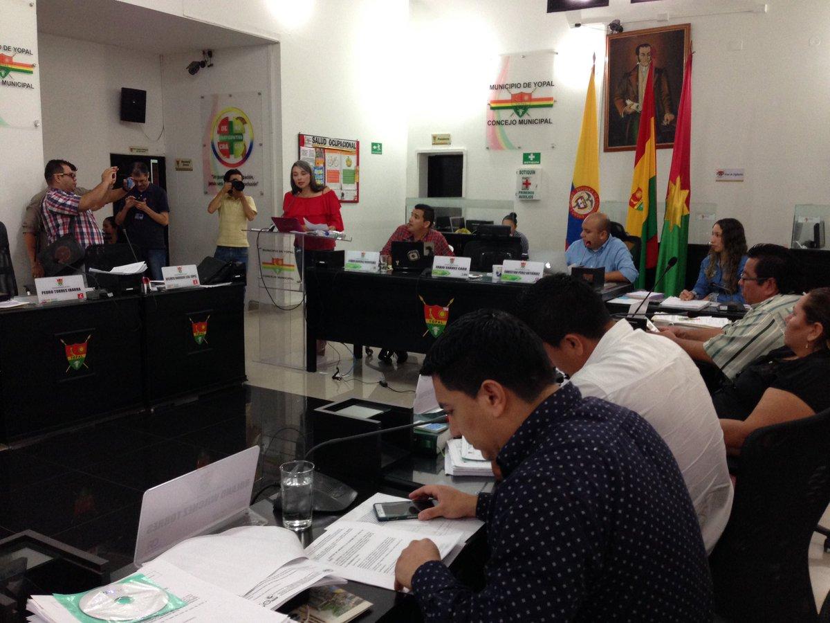 Concejales cuestionan labor de la Secretaría de Hacienda de Yopal