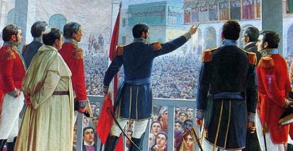#Violetaenlahisotria: Un día como hoy Se declara la independencia del Perú