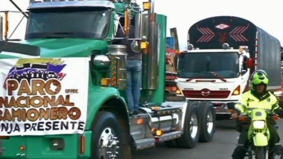 Camioneros de Casanare no van mas con el Paro Nacional.