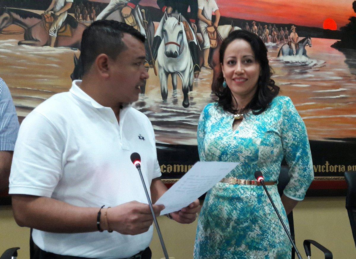 Sonia Bernal repetirá como presidente de la Asamblea Departamental