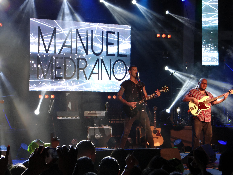 Manuel Medrano le canto al llano y Violeta Stereo La Paz estuvo presente