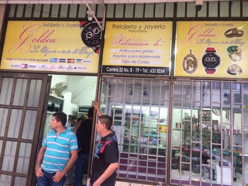 AUDIO | En pleno centro de Yopal robaron joyería abriendo hueco en la pared del local vecino