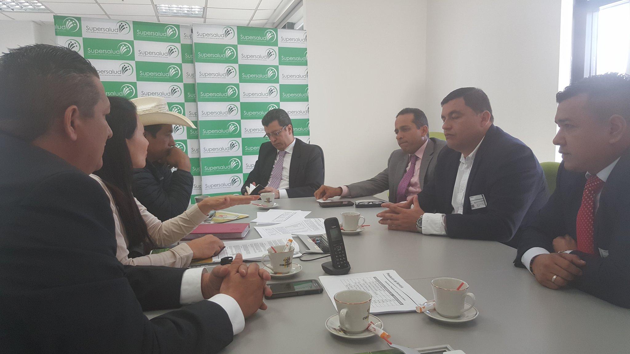 Por mediación del Senador Alexander López Supersalud recibió a Casanare por crisis de Capresoca