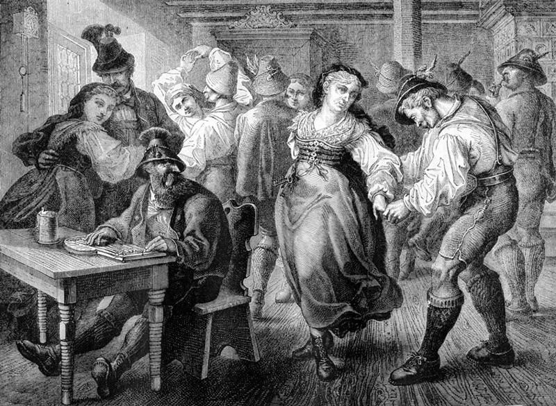 #Violetaenlahistoria: Un día como hoy La misteriosa epidemia de baile alcanza su apogeo