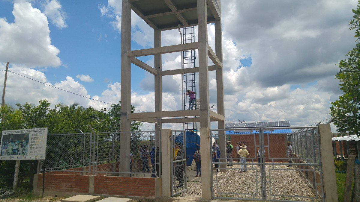Comunidad de la vereda Centro Gaitán del municipio de Paz de Ariporo, estrena acueducto