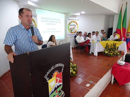 Importantes obras anunció Alcalde de Paz de Ariporo en la rendición de cuentas de sus primeros seis meses de gobierno.