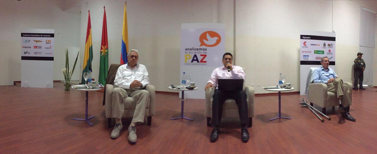 AUDIO   Exguerrilleros del M-19 expusieron en Yopal sus posturas ante el Plebiscito
