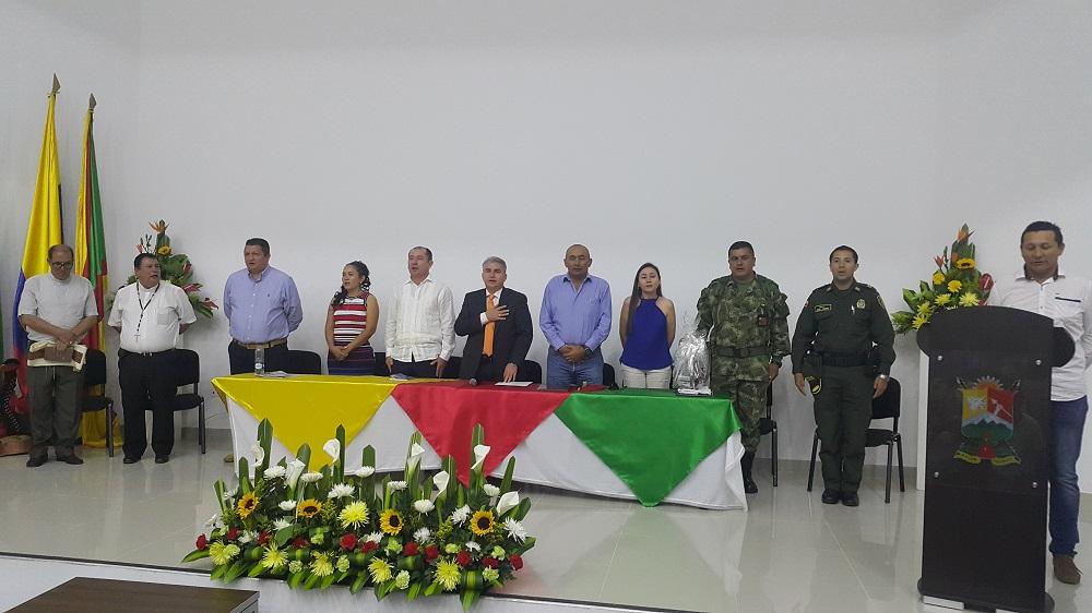 Alcalde de Paz de Ariporo recibió reconocimiento como el Alcalde Solidario e Incluyente del Casanare 2016
