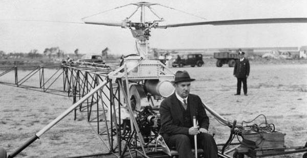 #Violetaenlahistoria: Un día como hoy se realizo el primer vuelo exitoso de un helicóptero