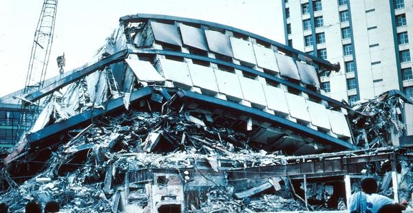 #Violetaenlahistoria: Un día como hoy un devastador sismo arrasó la ciudad de México DF
