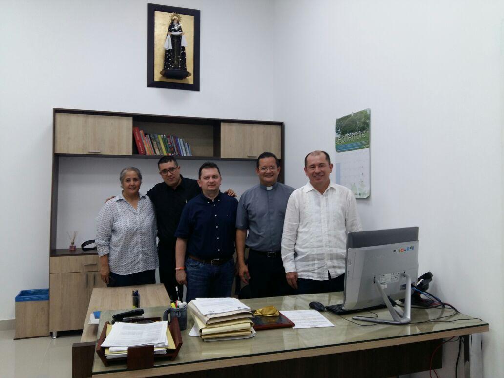 Directivos de Uniminuto visitaron el municipio de Paz de Ariporo