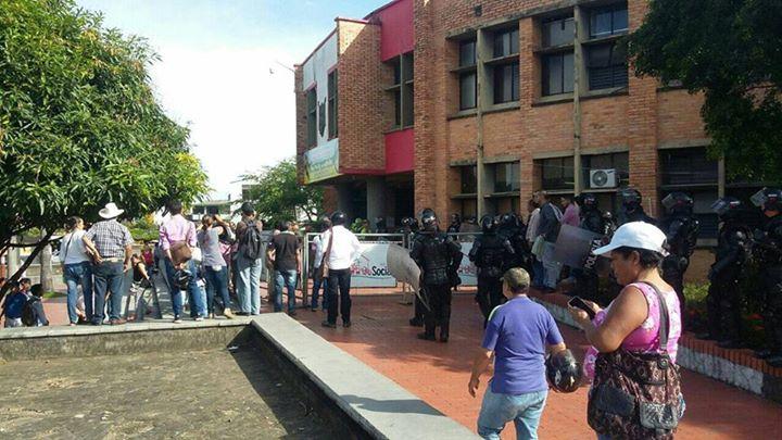 Hermanos del alcalde de Yopal instan a seguidores a asonada contra Alcaldía
