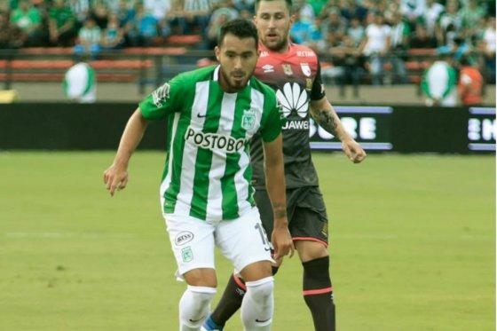 Nacional y Santa Fe empataron en la ida de las semifinales de la Copa Águila