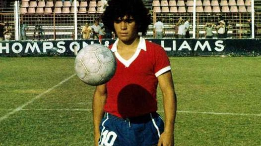 #Violetaenlahistoria: Un día como hoy Diego Maradona hizo su debut como jugador profesional